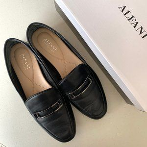 Alfani Shoes | Black Alfani Loafers